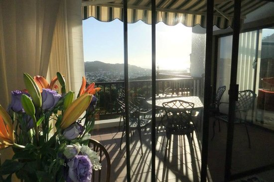 Panorama Guest House: View from the breakfast table