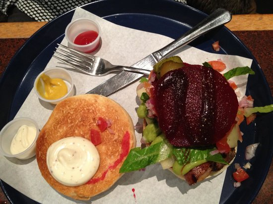 North Shore, New Zealand: Moorish burgers