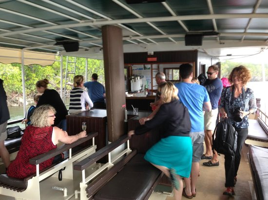 Lady Douglas River Cruise: On board
