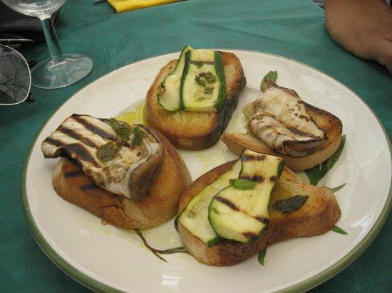 Sapere & Sapori: Bruschette Vegetariane