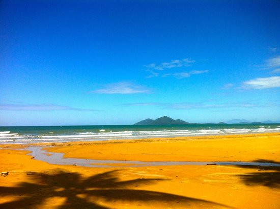 Mission Beach: Mission Beach with Dunk Island in view