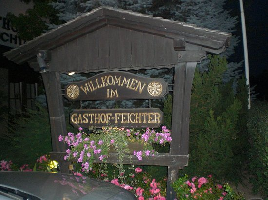 Gasthof Feichter: Nydelig sted, anbefales!