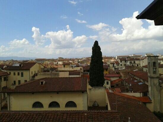 Albergo Hotel Panorama Firenze: vistas habitación