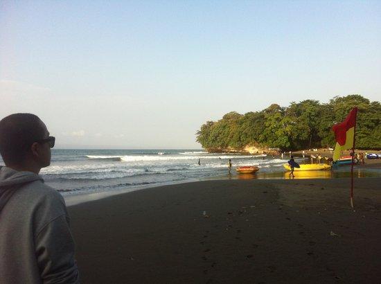 JavaCove Beach Hotel: the beach