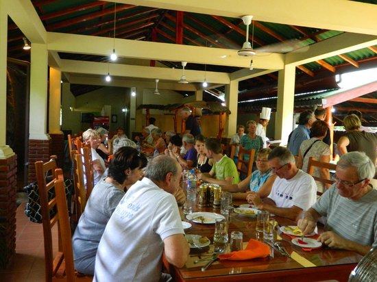 Sabaragamuwa Province, Sri Lanka: Main Restaurant