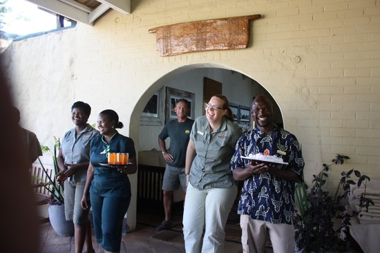 Bumi Hills Safari Lodge & Spa : The welcome !