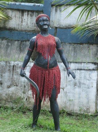 Baratang Island, Indien: jarwa tribe