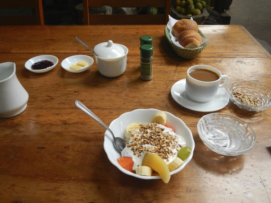 Huillacuna Casa del Arte: Breakfast