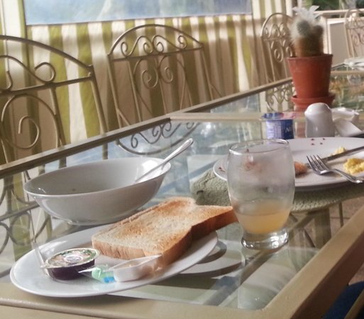 Tamboti Lodge: Breakfast