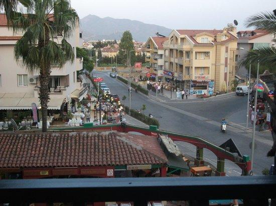 Club Meridmar Apart: view from our veranda