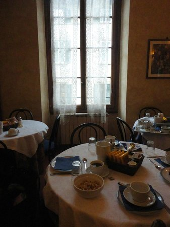 Hotel Genesio: View of breakfast area
