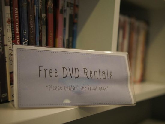 Hotel Alley Hua Hin : Feel free to pick up your favorite movie at our DVDs library. It's free of charge :)