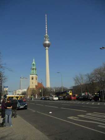 Ivbergs Hotel Berlin Messe: Berliner Fernsehturm