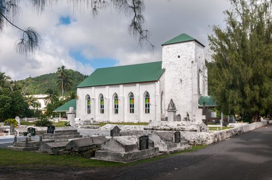 Cook Island Christian Church (CICC) : CICC in Southeast Avarua