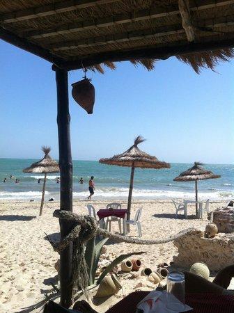 Dar Nesma : sur la plage