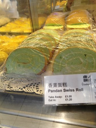 Chinatown Bakery: Swiss Roll