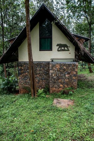 Each cottage has a scripture of the species it represents outside, along with its local name and