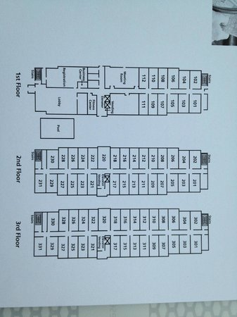Hampton Inn Crossville: Floor Plan
