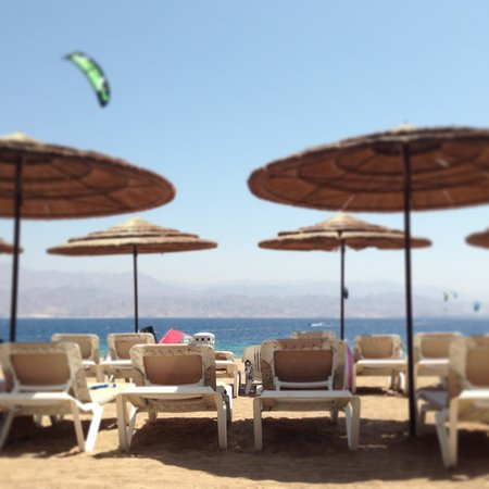 U Coral Beach Club Eilat: The beach