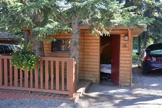 Pocahontas Cabins: C'est bien l'intégralité du chalet pour loger 4 personnes