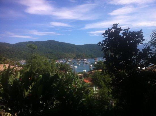 Pousada Tagomago Beach Lodge: Aussicht von der Pousada