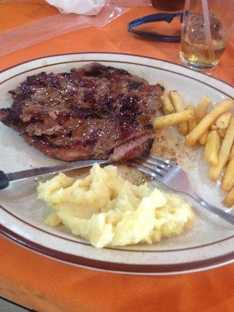 El Churrasco Hotel Restaurante : exquisito mi churrasco