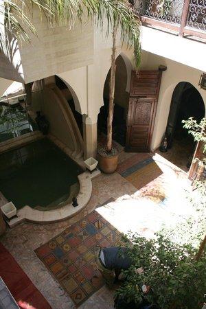 Riad Dar El Kheir : Small central place within the Riad