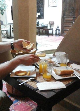 Riad Dar El Kheir : Poor breakfast