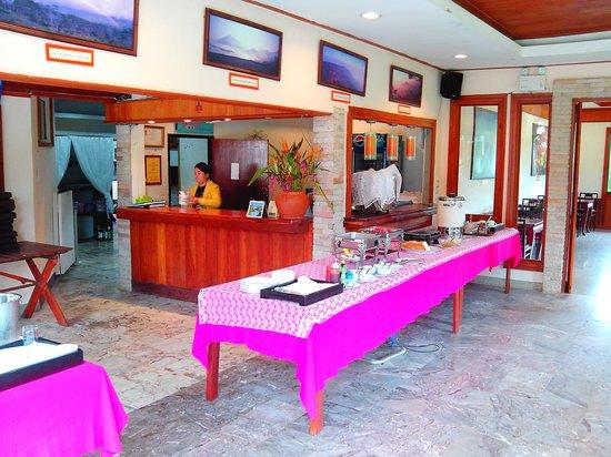 Phurua Resort: Le mémorable buffet du petit-déjeuner