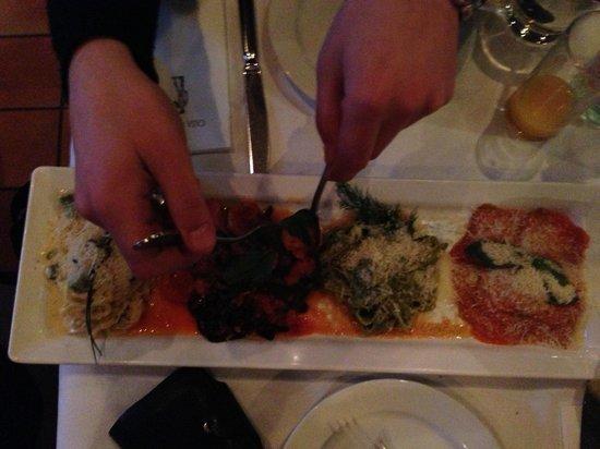 Casa di David: 4 types of super delicios spaghetti! For 2 people