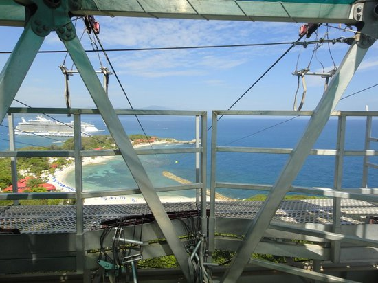 Dragons Breath Zipline: Ready to go
