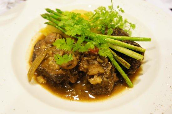 The Sire Museum Restaurant: Braised Wagyu cheek