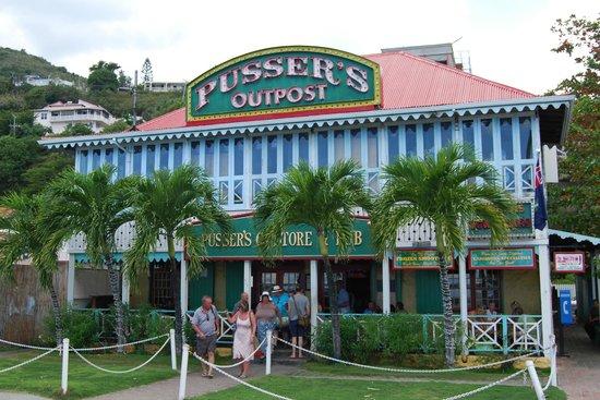 Pusser's: Outside Vista