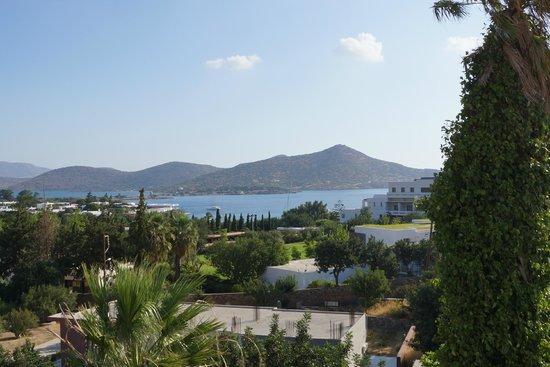 Elounda Breeze Resort : view from the window of room