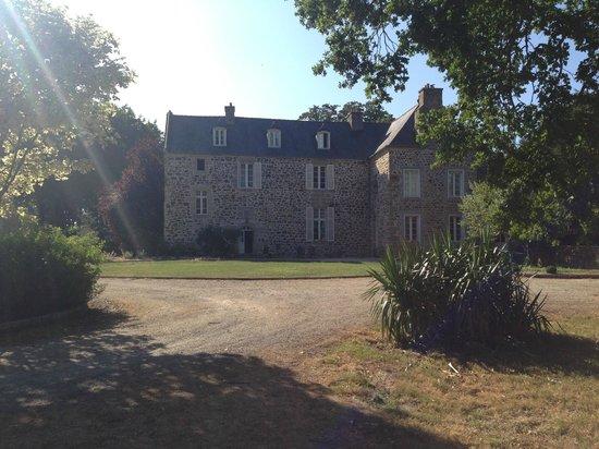 Manoir de La Villeneuve : Het hoofdgebouw