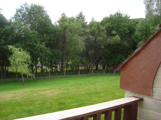 Scandinavian Village: Balcony view Apt 36