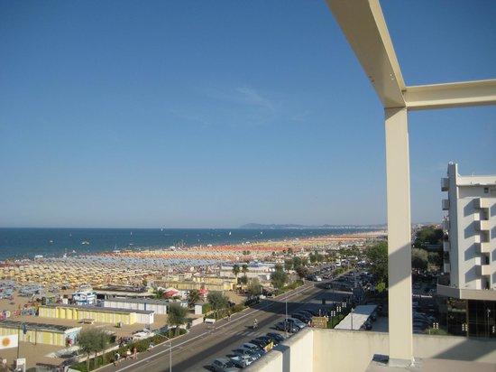 Hotel Metropole: Вид с крышы отеля