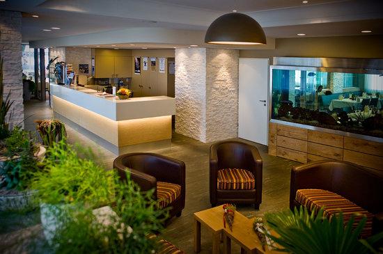 Hotel Drei Koenige: Rezeption