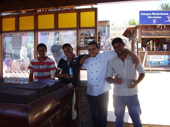 the waiters from yalla bar