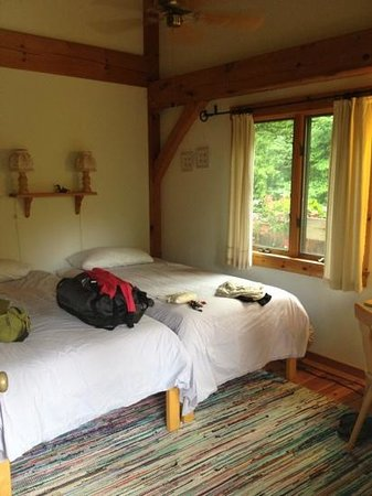 Mont Vernon, NH : my room