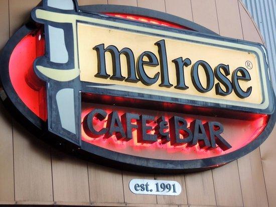 Melrose Cafe & Bar : The Melrose Event