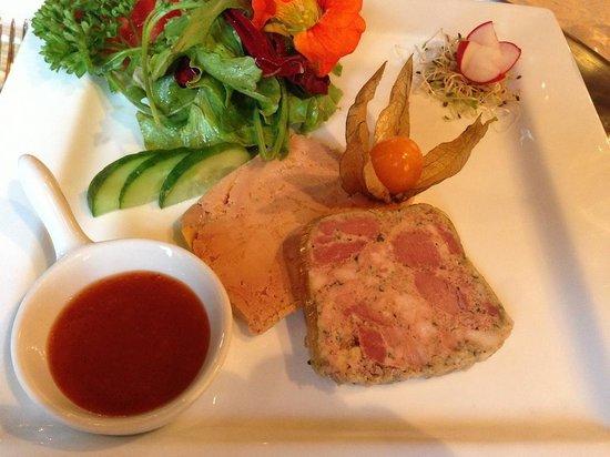 Signy-le-Petit, France : Fois gras