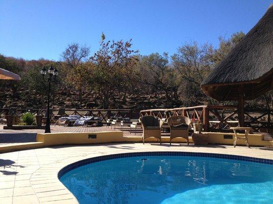 Matswani Safari Lodge: In the middle of nature