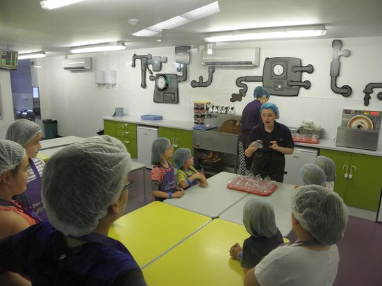 The CocoaBean Company: In the chocolate kitchen