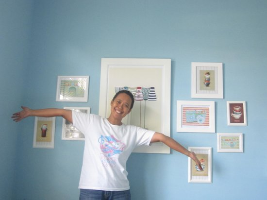 Cottonwood Bed & Breakfast: Wall decoration