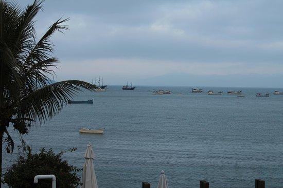 Costa Norte Ponta Das Canas Hotel Florianopolis: Visão da suite vista mar