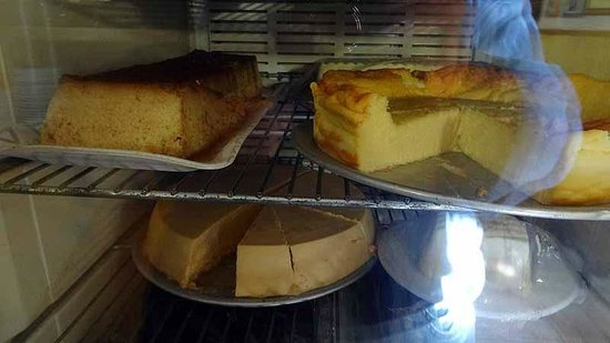 La Marina de L'Hospitalet: Cheese Cake... but did not tried as too heavy after the meal