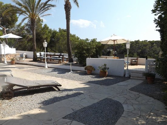 Beach Bungalows at Cala Gracioneta: Individual seating/sunbathing