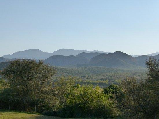 Thabile Lodge: Aussicht auf die Swartberge