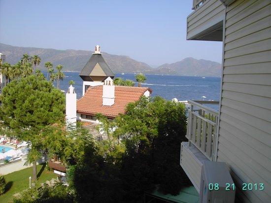 Flamingo Hotel: view from balcony